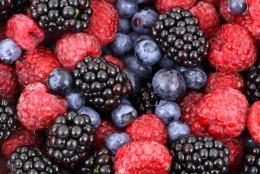 Zdrowe owoce jagodowe