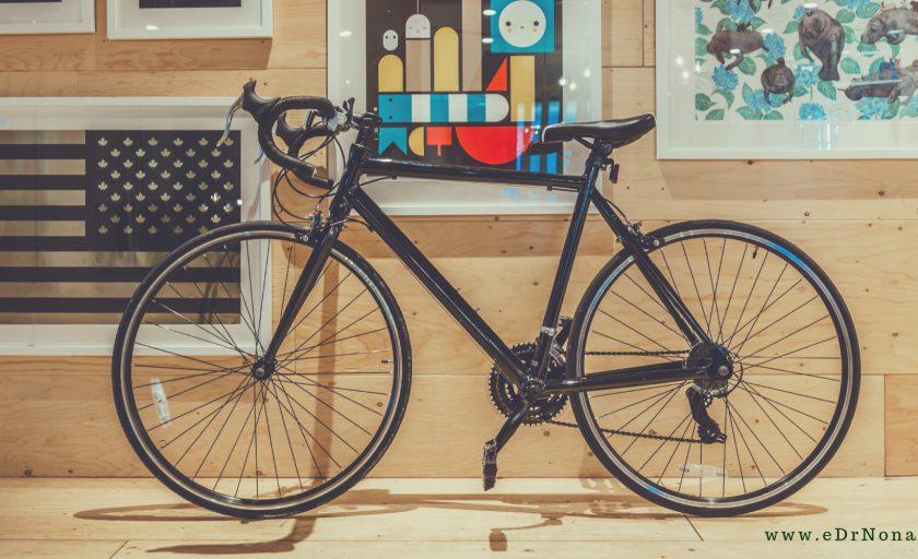 Liczne efekty jazdy na rowerze