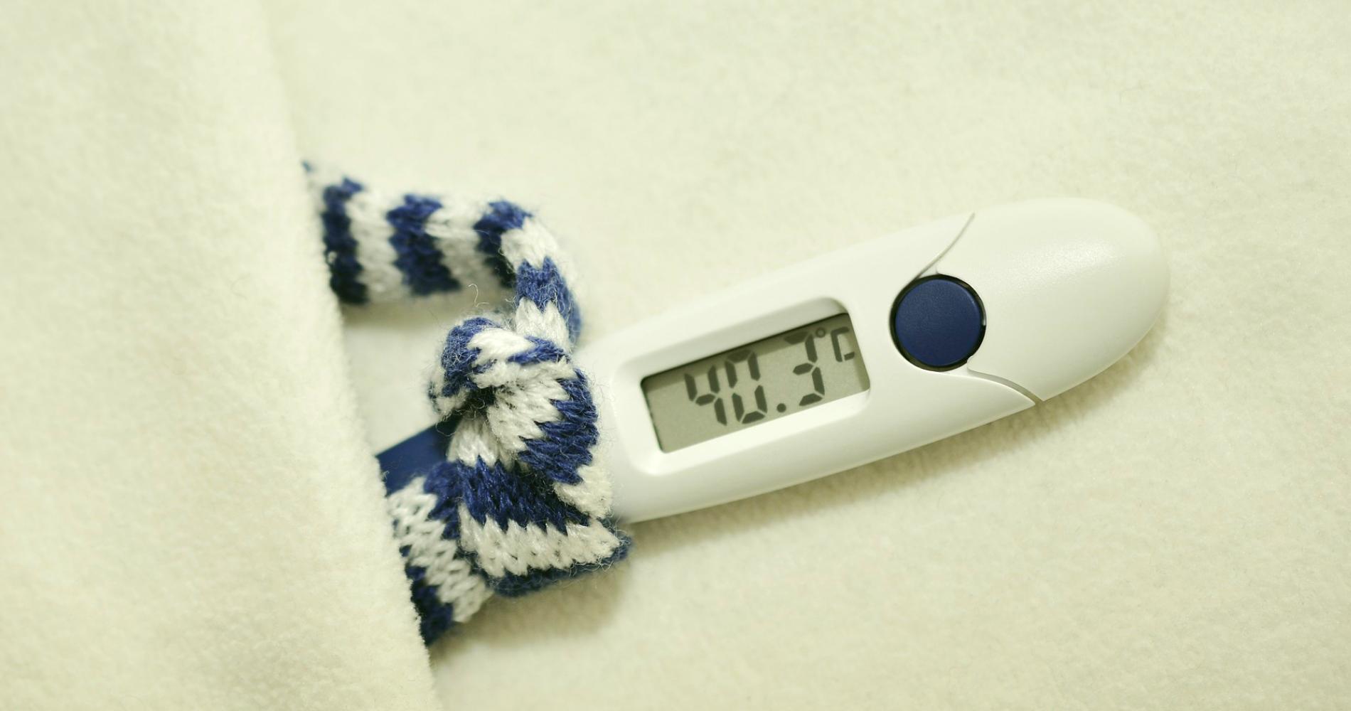 gorączka i domowe sposoby na obniżenie gorączki eDrNona