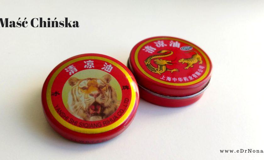 Maść Chińska, Maść Tygrysia na bóle