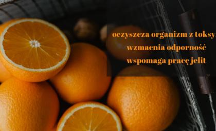 Maseczka z pomarańczy