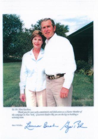 Dr Nona George Bush