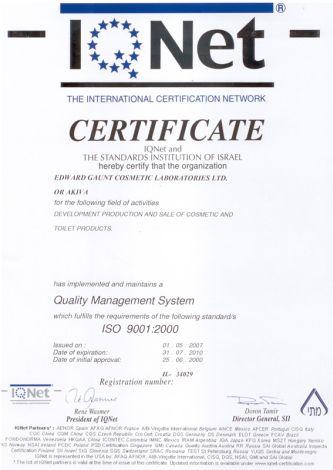 certyfikaty Dr Nona