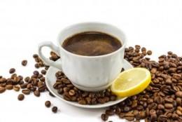 Kawa z cytryną