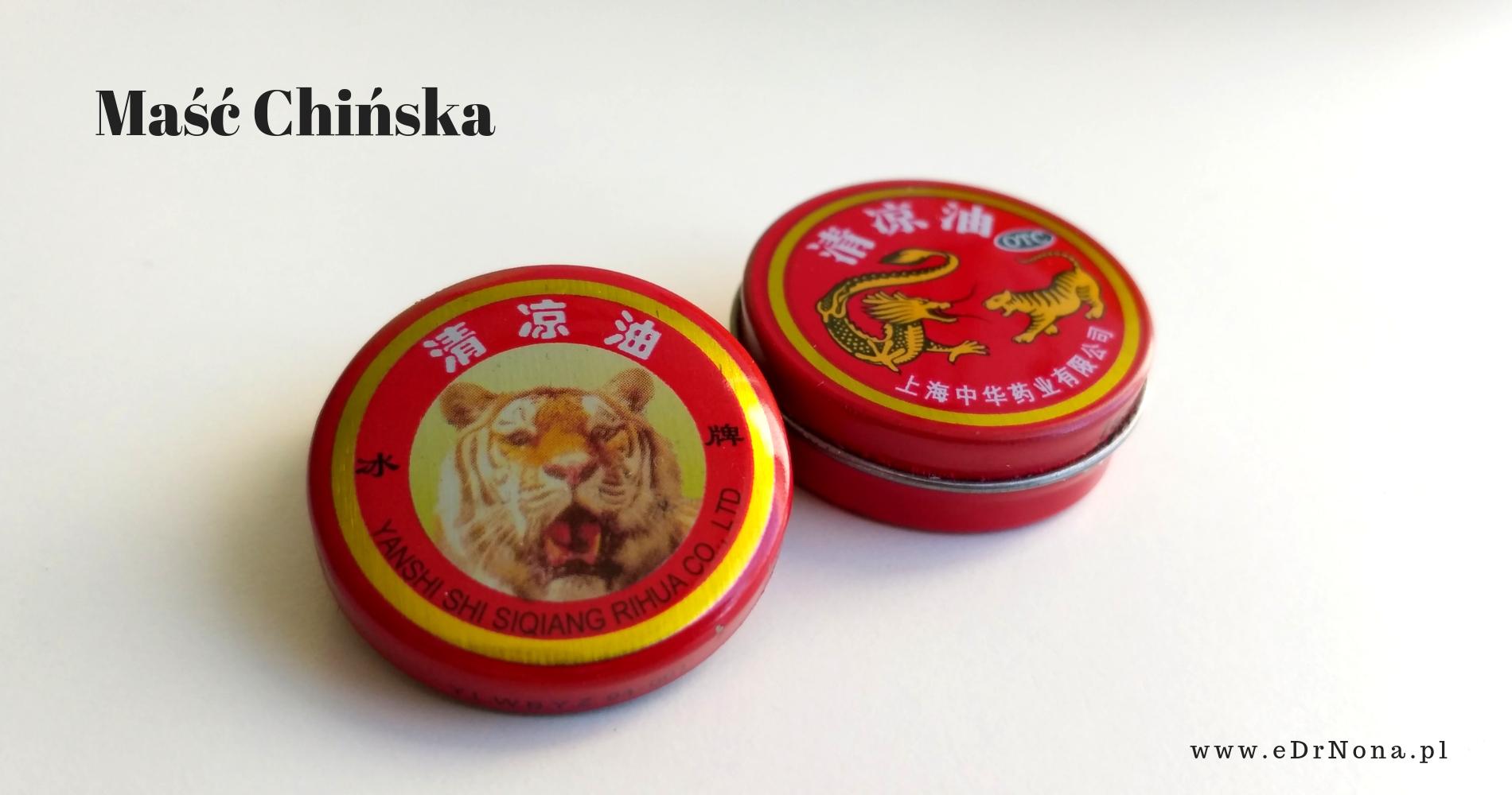 czerwona maść chińska