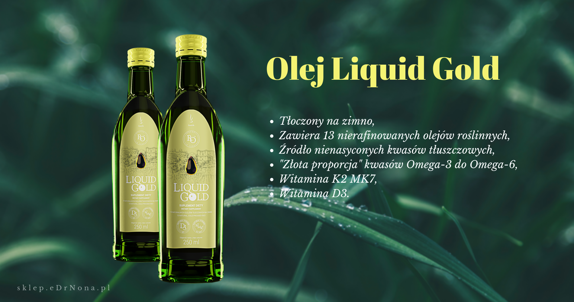 Olej liquid gold duolife dr nona